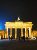 Porta de Brandebourg em Berlim, Alemanha Fotos de Stock Royalty Free