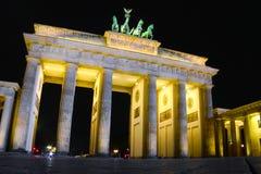 Porta de Brandebourg em Berlim, Alemanha Imagem de Stock