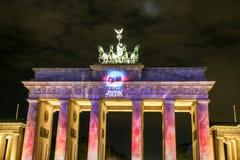 A porta de Brandemburgo em Berlim em, Alemanha Fotografia de Stock Royalty Free