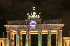 A porta de Brandemburgo em Berlim em, Alemanha Imagem de Stock