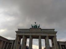 Porta de Brandenburger imagens de stock
