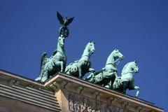 Porta de Brandenburger foto de stock