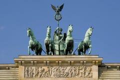 Porta de Brandenburger em Berlim Imagens de Stock Royalty Free