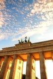 Porta de Brandenburger em Berlim Fotos de Stock Royalty Free