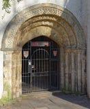 Porta de Bristol Cathedral Choir School Memorial imagens de stock
