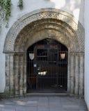 Porta de Bristol Cathedral Choir School Memorial fotografia de stock royalty free