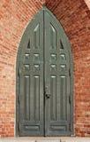 Porta de bronze antiga Fotografia de Stock