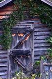 Porta de cabine fotografia de stock