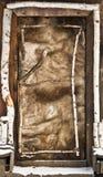 Porta de cabine velha Imagem de Stock