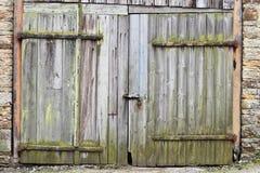 Porta de celeiro Fotografia de Stock Royalty Free
