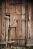 Porta de celeiro Imagens de Stock