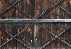 Porta de celeiro velha fotos de stock royalty free