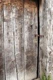 Porta de celeiro velha Fotografia de Stock Royalty Free