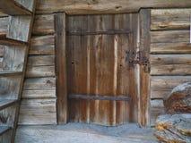 Porta de celeiro velha Fotografia de Stock