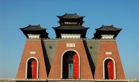 Porta de China Imagens de Stock