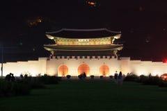 Porta de Coreia Seoul Gwanghwamun Foto de Stock