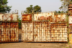 Porta de descanso Imagem de Stock Royalty Free