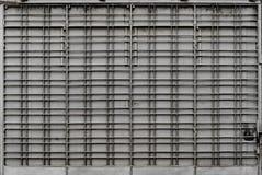Porta de dobramento do metal Imagens de Stock