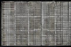 Porta de dobramento perfurada do metal Foto de Stock