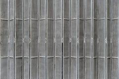 Porta de dobramento perfurada do metal Imagem de Stock Royalty Free