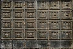 Porta de dobramento resistida do metal Imagem de Stock