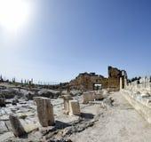 Porta de Domitian em Hierapolis Fotografia de Stock