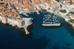 Porta de Dubrovnik imagem de stock royalty free