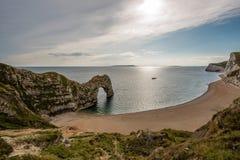 Porta de Durdle em Dorset Fotografia de Stock