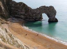 Porta de Durdle em Dorset Foto de Stock