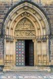 Porta de entrada da basílica de St Peter e de St Paul Foto de Stock