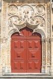 Porta de entrada da igreja Imagem de Stock Royalty Free