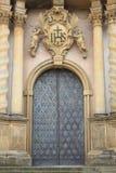 Porta de entrada de uma igreja barroco do estilo Foto de Stock Royalty Free