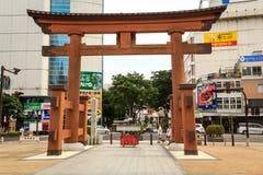 Porta de entrada do santuário Imagem de Stock