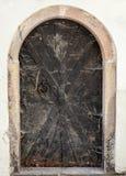 Porta de entrada medieval Cobwebbed Fotos de Stock