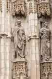 Porta de entrada de Sevilla Cathedral Sevilha, Spain Foto de Stock
