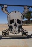 Porta de esqueleto da costa fotografia de stock royalty free