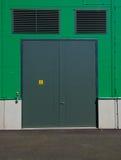 Porta de fábrica Foto de Stock Royalty Free