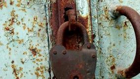 Porta de fechamento oxidada filme