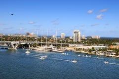 Porta de Fort Lauderdale Fotografia de Stock Royalty Free