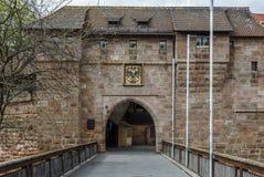 Porta de Frauentor, Nurenberg Fotos de Stock Royalty Free