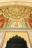 Porta de Ganesh do forte ambarino Fotografia de Stock