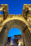Porta de Hadrian; Antalya foto de stock