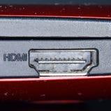 Porta de Hdmi fotos de stock