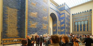 Porta de Ishtar Imagens de Stock