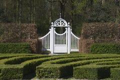 Porta de jardim 2 imagens de stock