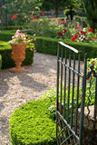 A porta de jardim Fotografia de Stock Royalty Free