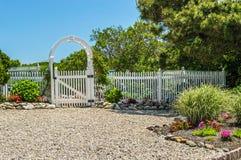 A porta de jardim Imagem de Stock