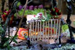 Porta de jardim do país das fadas Imagem de Stock Royalty Free