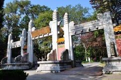 Porta de Jixing Fotos de Stock