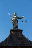 Porta de justiça em Dublin Castle, Irlanda, 2015 fotos de stock royalty free
